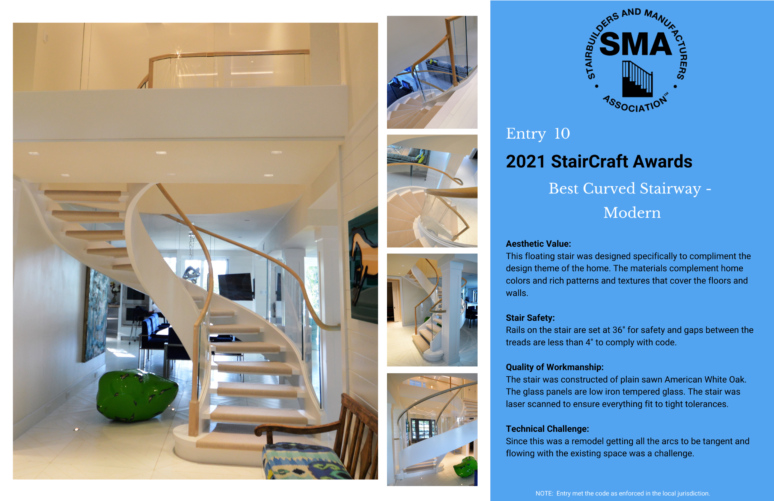 2021 StairCraft Awards Entry 10