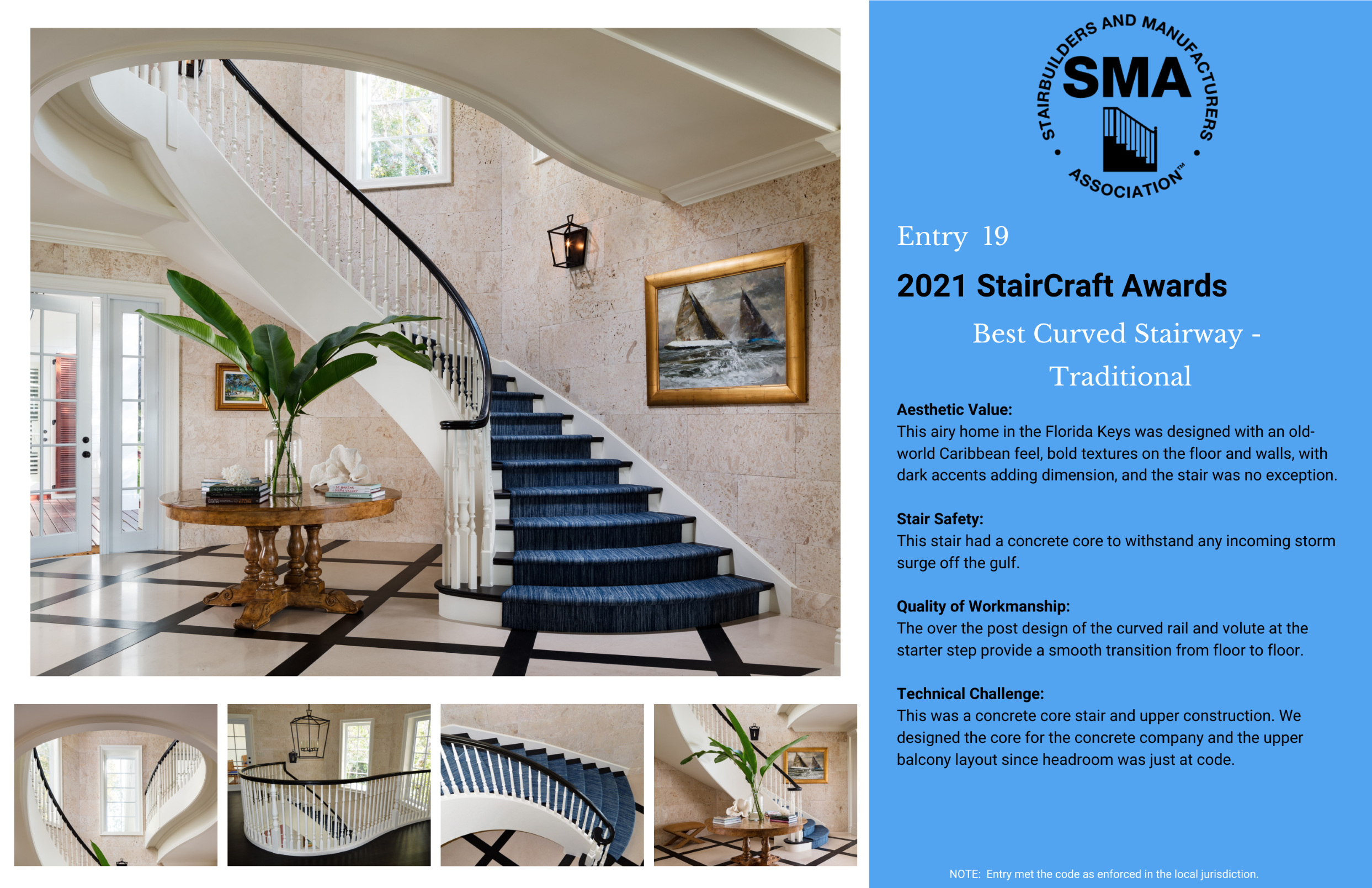 2021 StairCraft Awards Entry 19