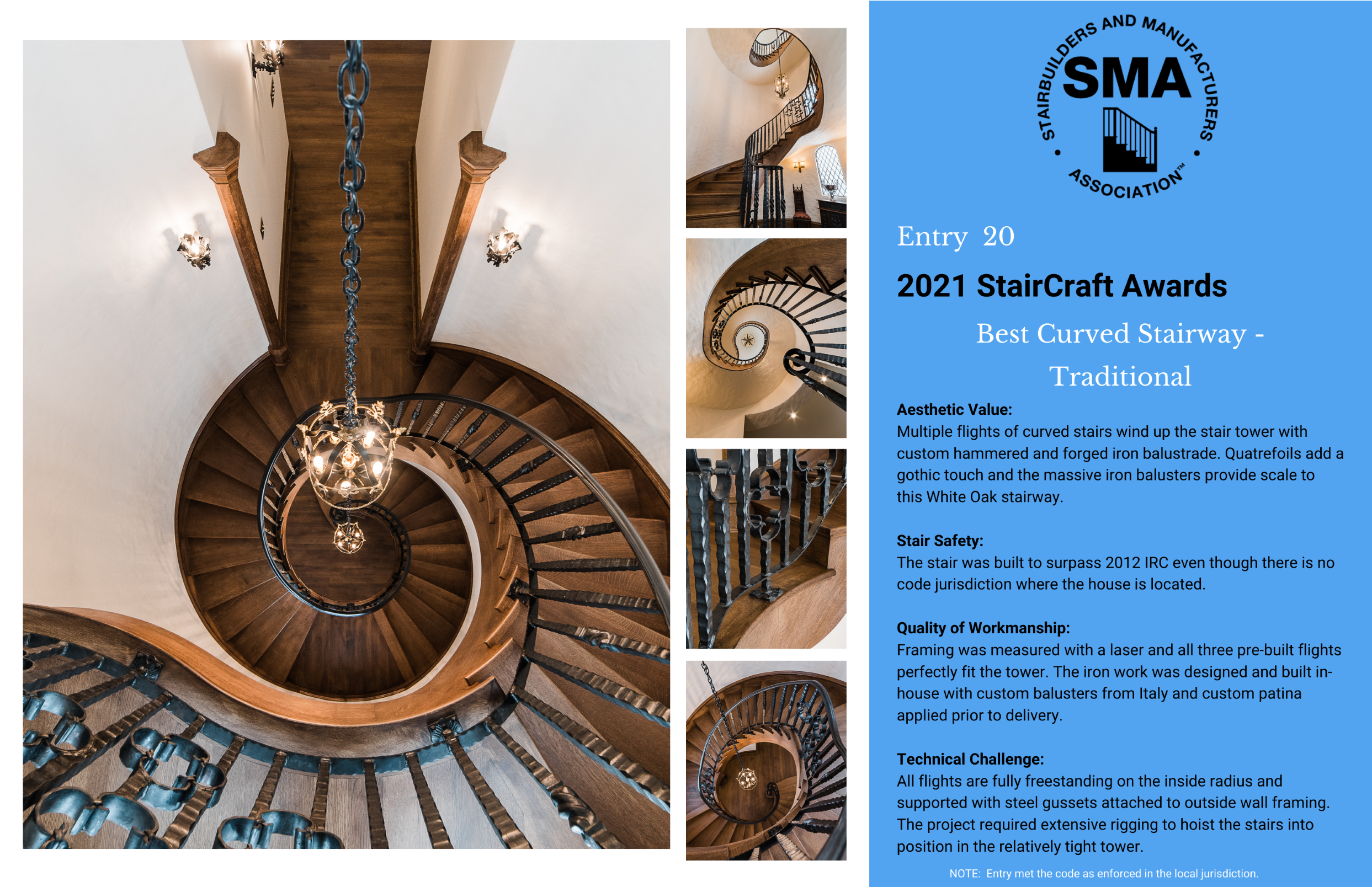 2021 StairCraft Awards Entry 20