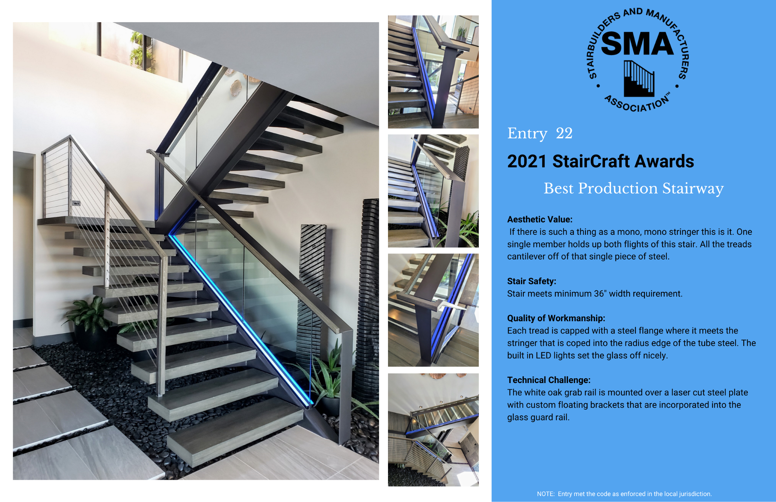 2021 StairCraft Awards Entry 22