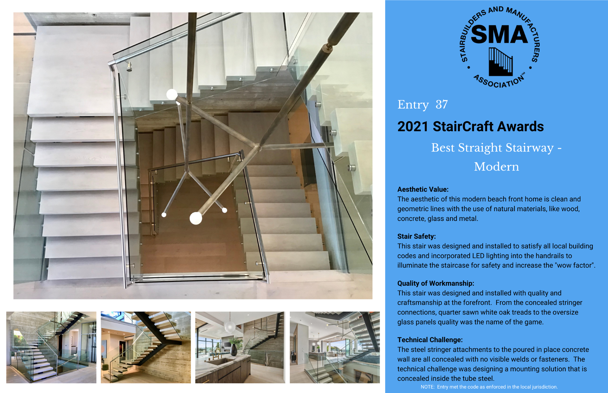 2021 StairCraft Awards Entry 37