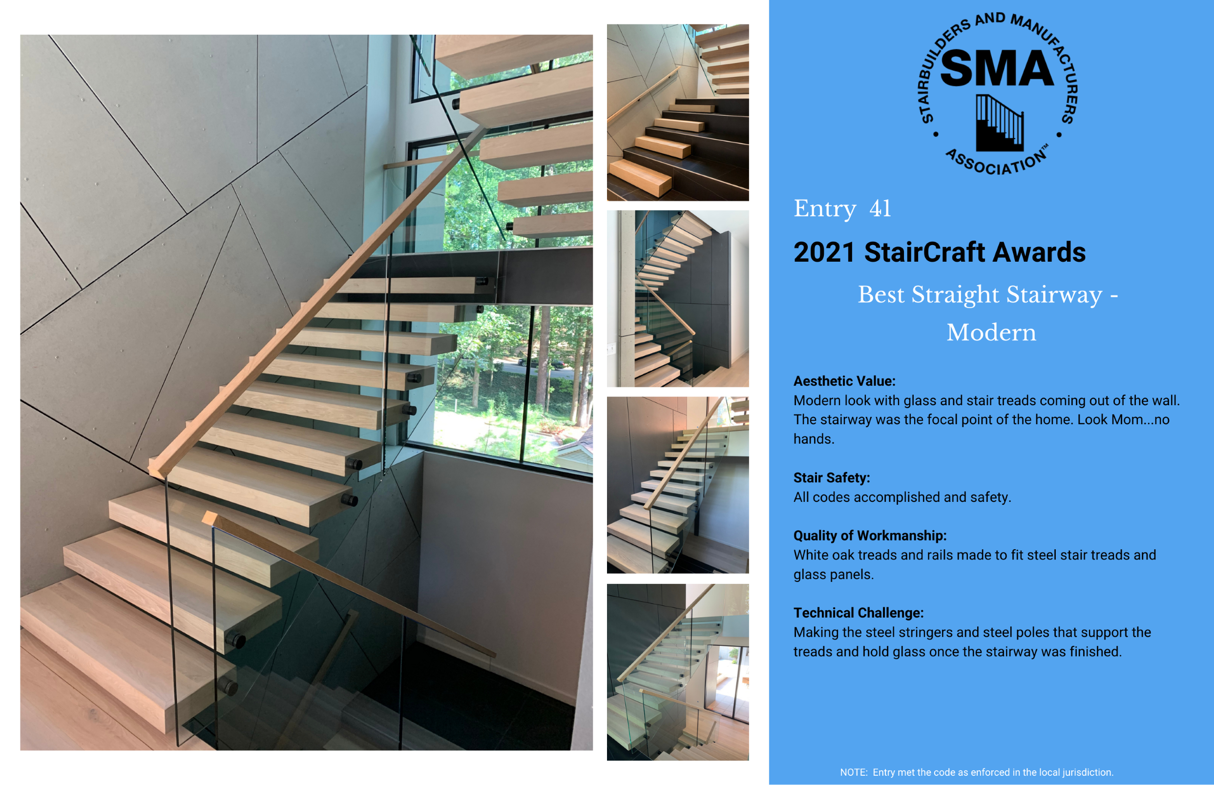 2021 StairCraft Awards Entry 41