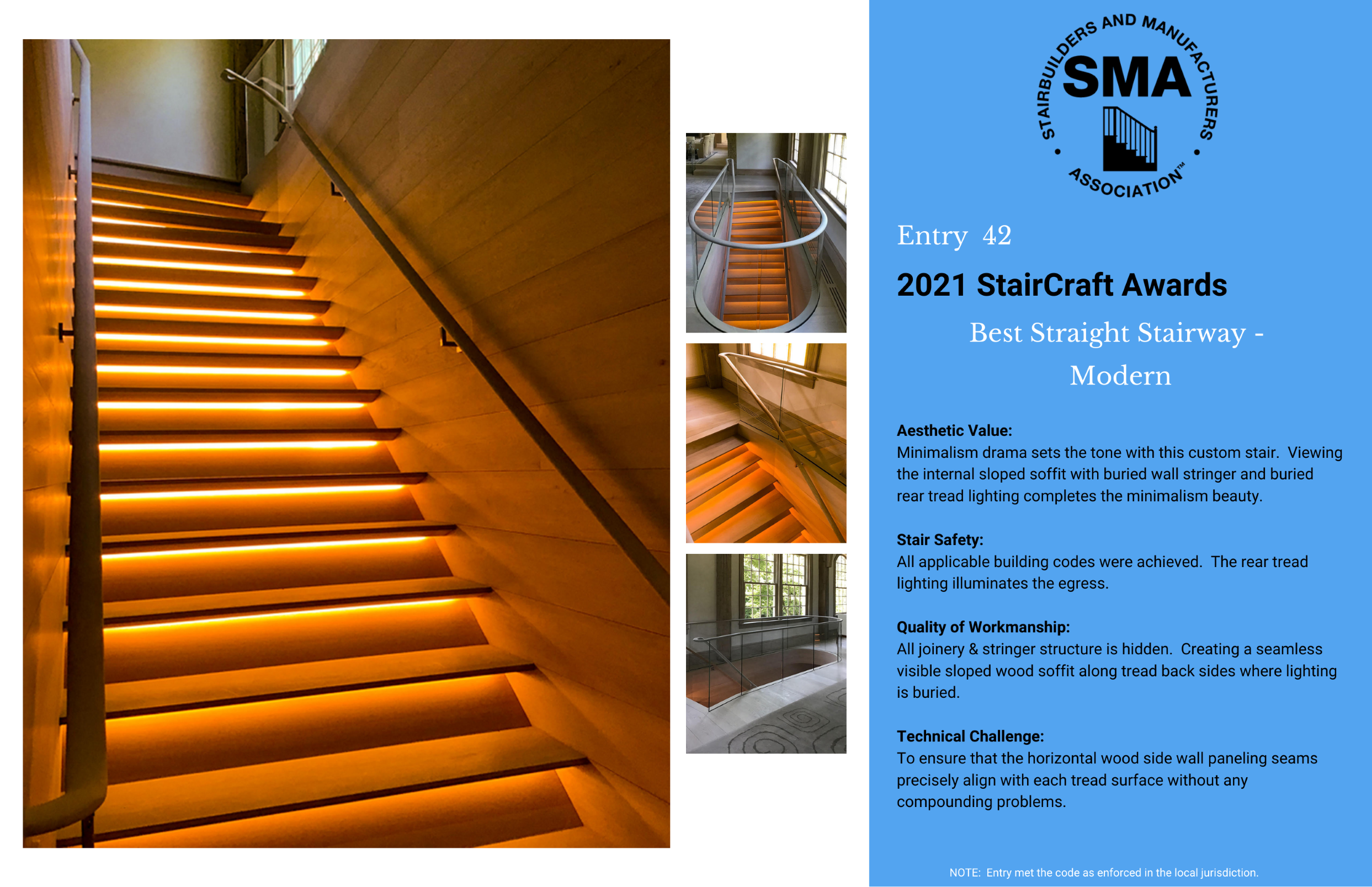2021 StairCraft Awards Entry 42