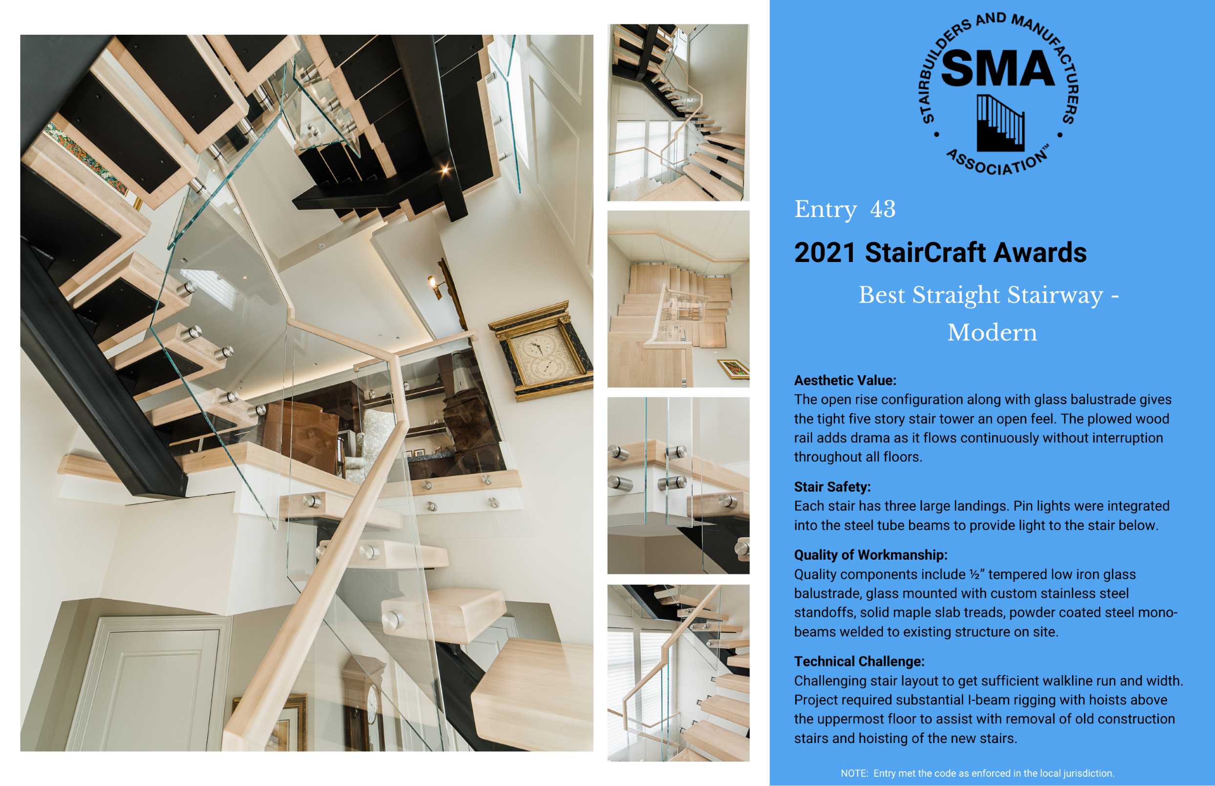 2021 StairCraft Awards Entry 43