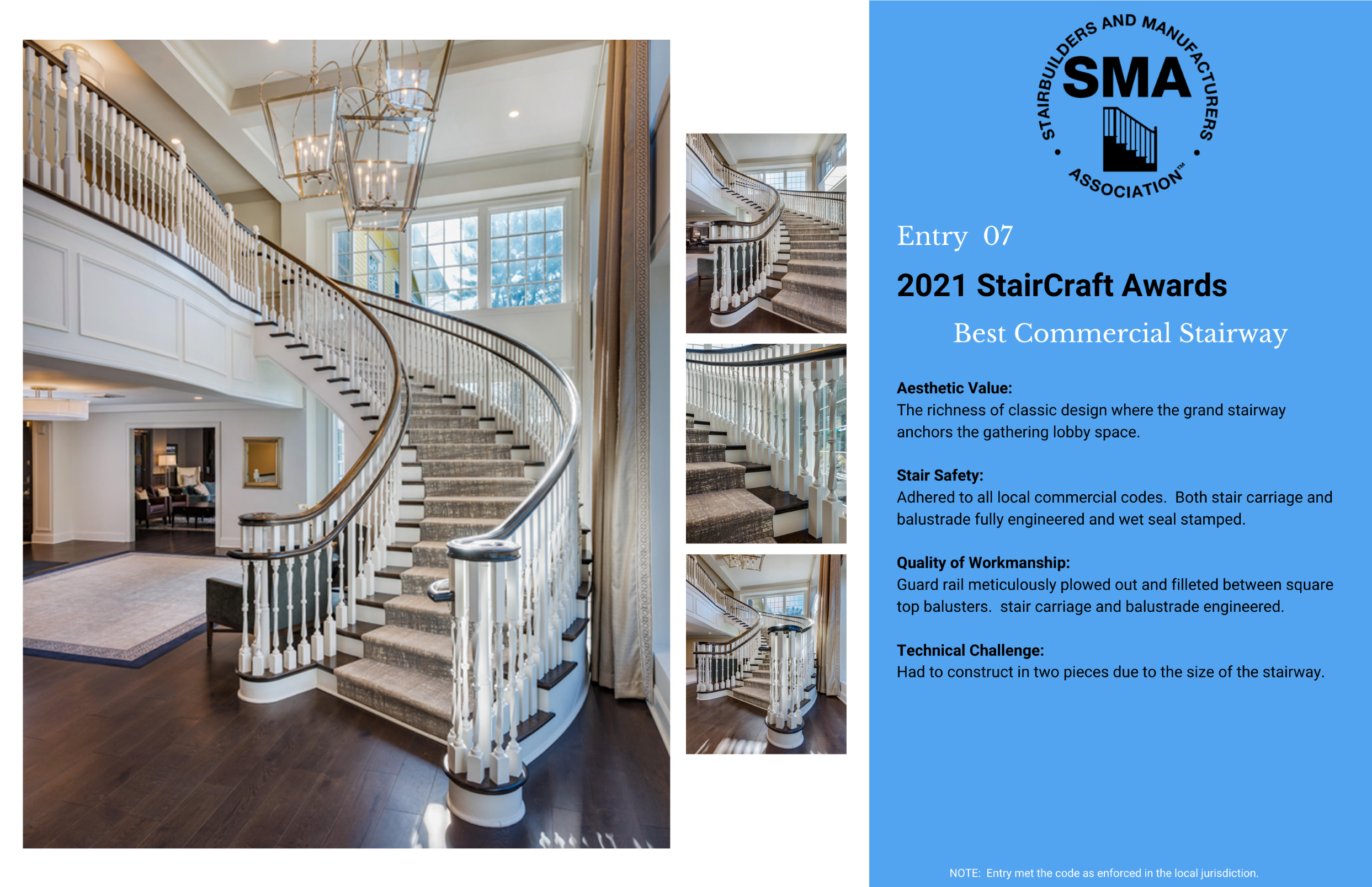 2021 StairCraft Awards Entry 7