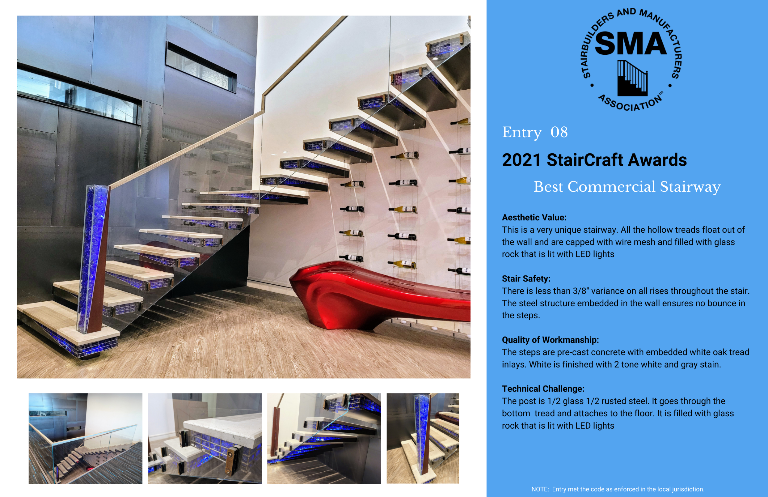 2021 StairCraft Awards Entry 8
