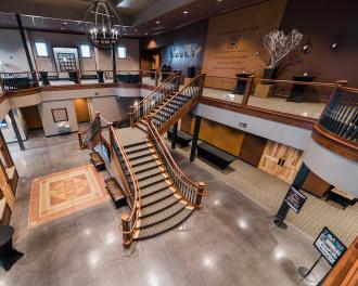 Best Commercial Stairway by Heartland Stairways