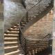 Best Curved Stairway-Modern by Vision Stairways and Millwork, LLC