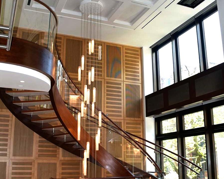 15 - Best Curved Stairway-Modern
