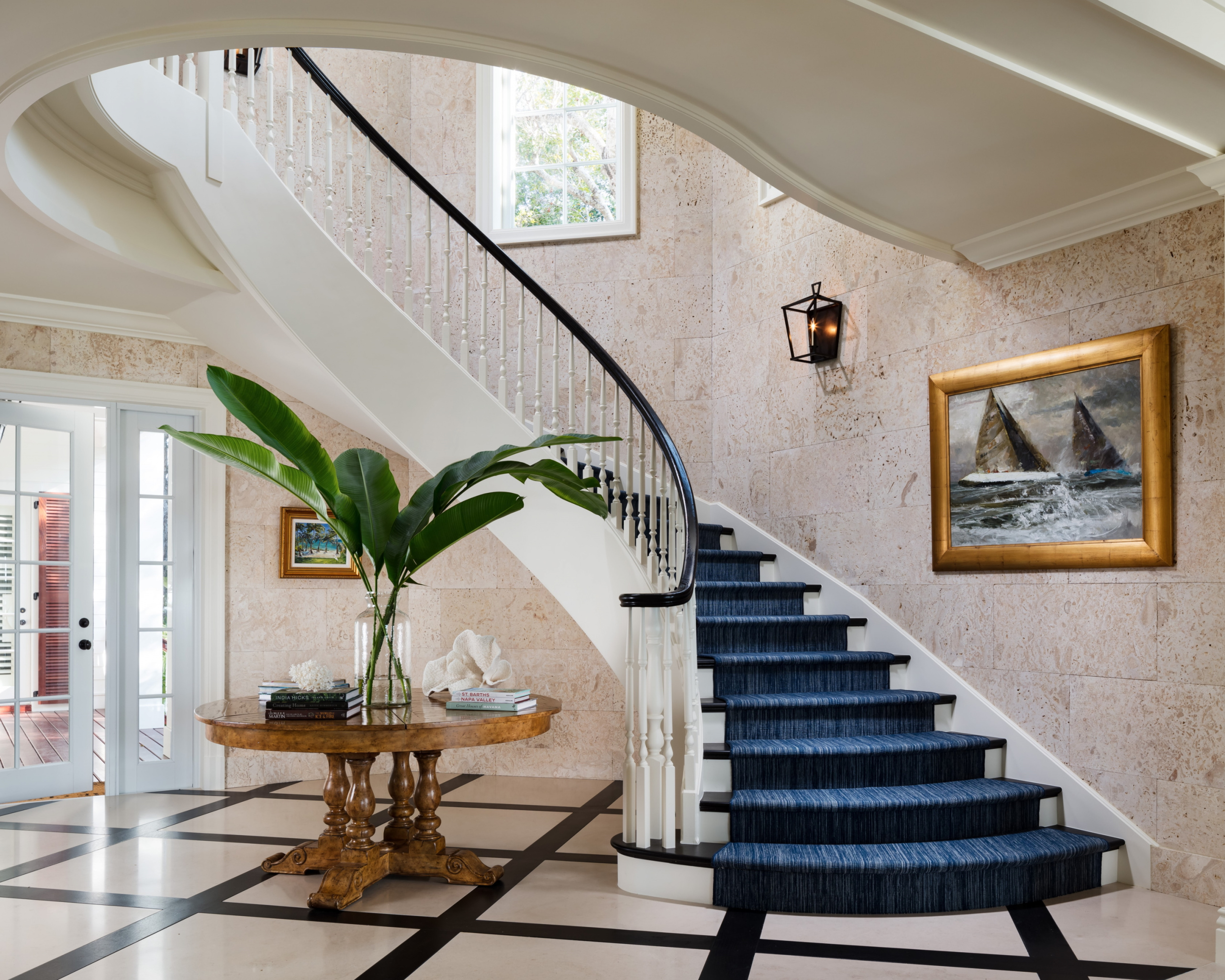 19 - Best Curved Stairway-Traditional