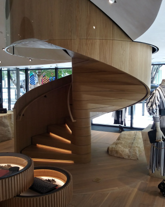 Best in Show - Spiral Stairway by Parks and Sons