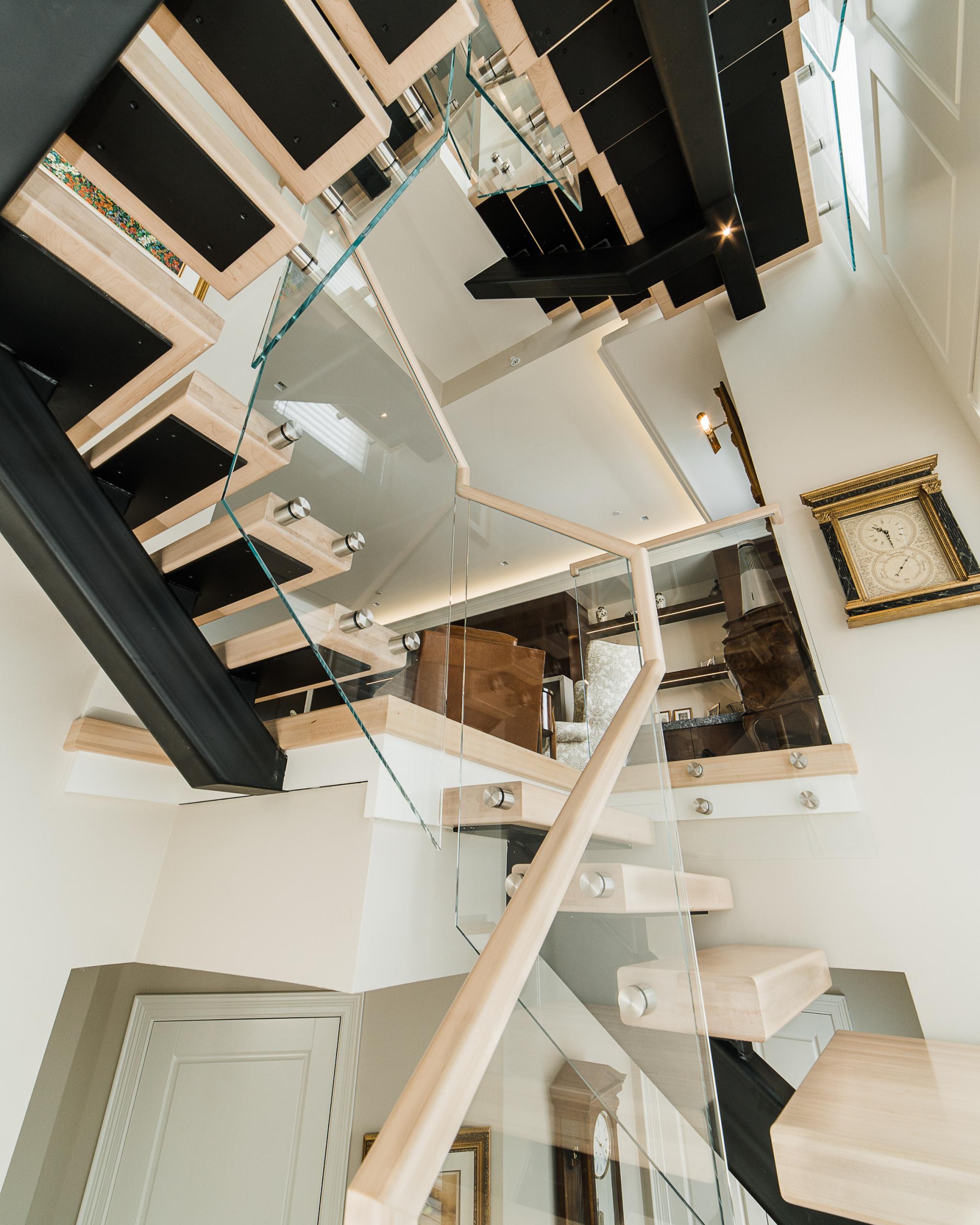 43 - Best Straight Stairway-Modern