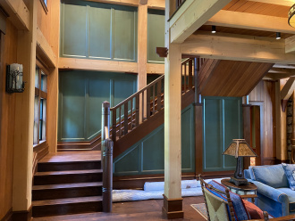 Best Straight Stairway-Traditional by King & Company